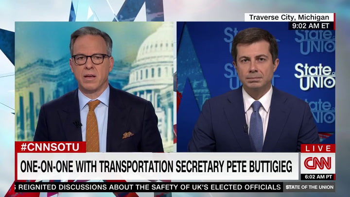 Buttigieg: Supply Chain Problems Because Biden Guided U.S. Out of Recession