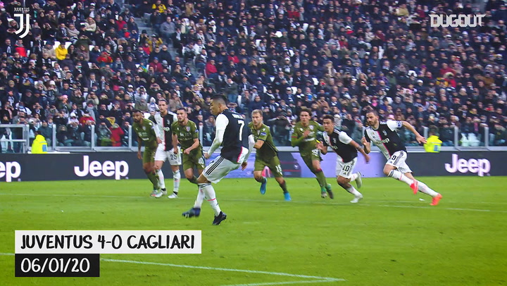 Juventus' Monday night victories