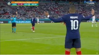 ¡Recortó a todos y venció a Neuer! El golazo que le fue anulado a Mbappé por fuera de juego