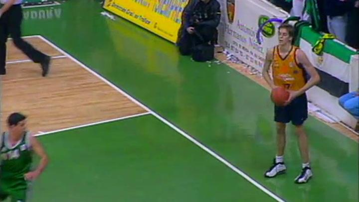 El debut de Pau Gasol en ACB