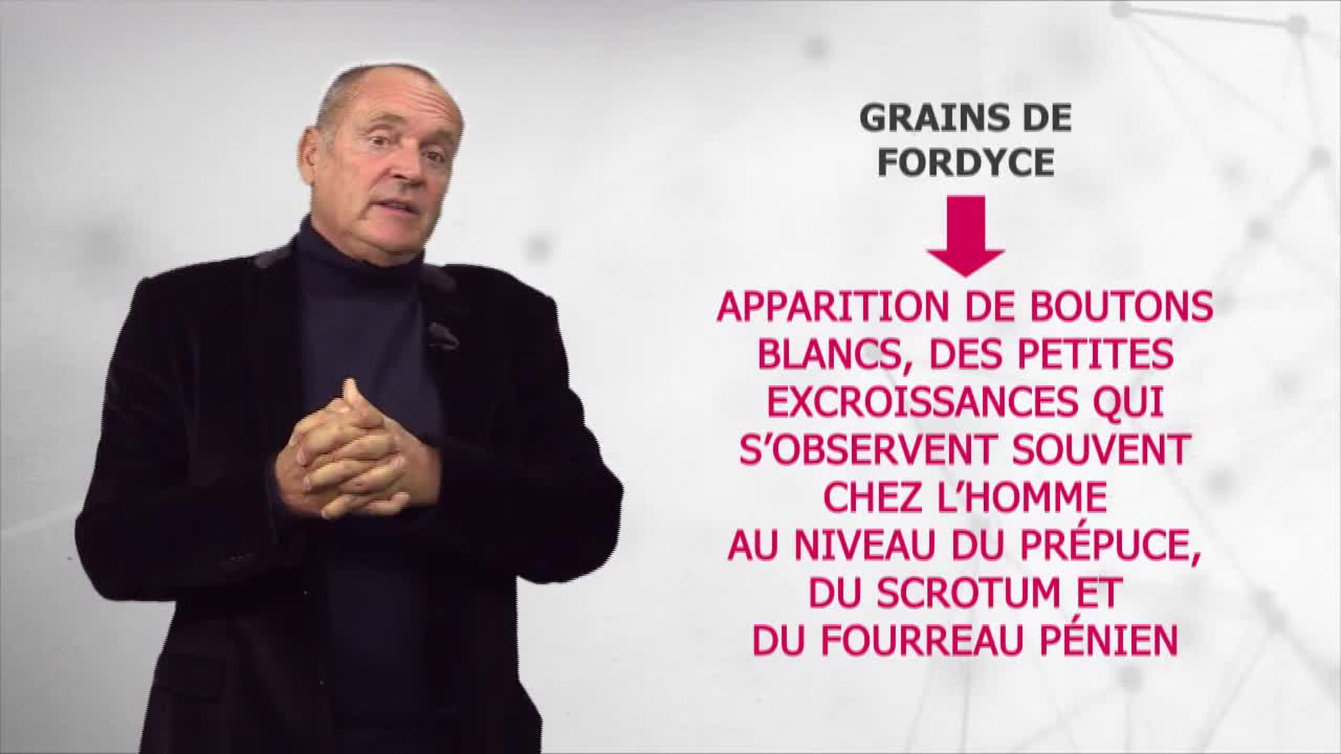 Santé médecine : Grains de Fordyce