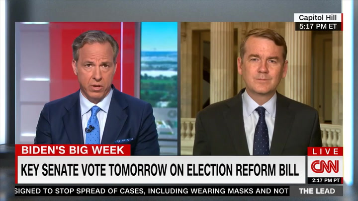 Bennet: McConnell Abusing Filibuster, Which State Legislatures Don't Have