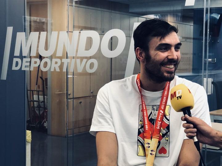 Entrevista a Pierre Oriola, campeón del Mundo de baloncesto