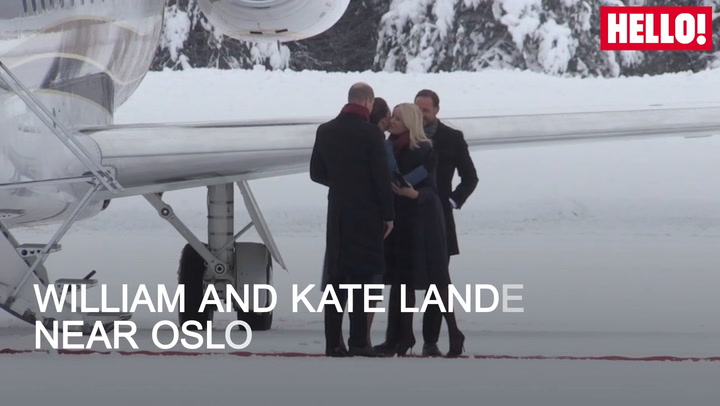 Warm Welcome To Chilly Norway For William And Kate