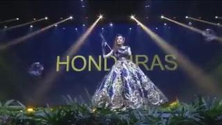 Así fue el vestido que lució Vanessa Villars previo al Miss Universo 2018