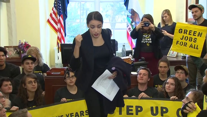 Ocasio-Cortez: 'I was stopped because it was assumed I was an intern'