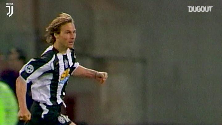 Pavel Nedvěd skilful finish downs SS Lazio