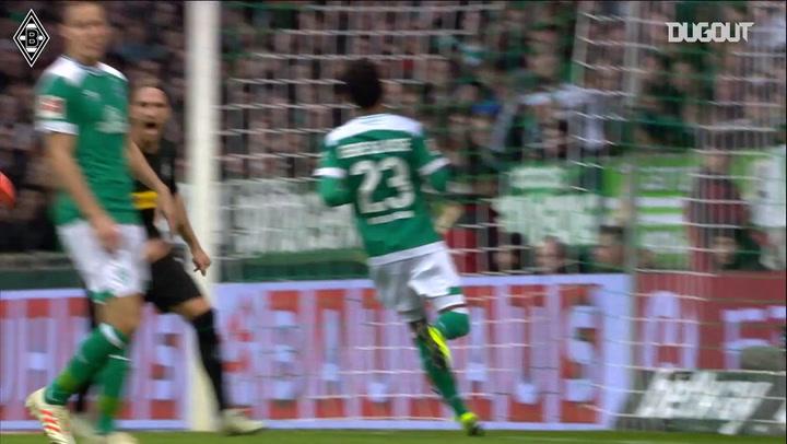 Plea scores hat-trick to down Werder Bremen