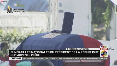 Haití se despide del asesinado presidente Jovenel Moïse
