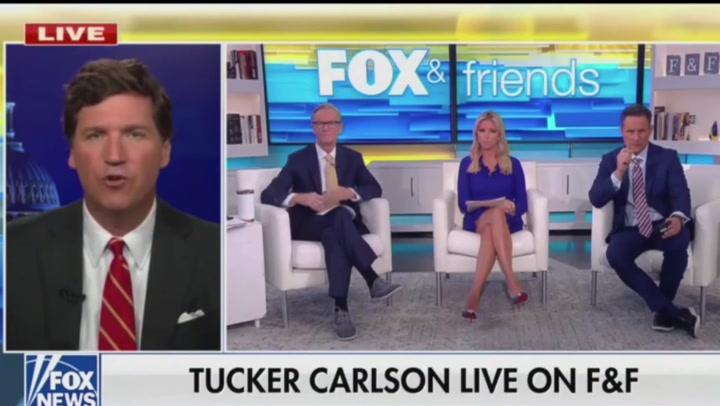 Fox News' Tucker Carlson calls for 'civil disobedience' over school mask mandates