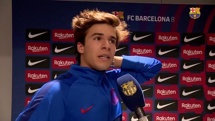 "Riqui Puig: ""Merecimos más frente al Cornellà"""