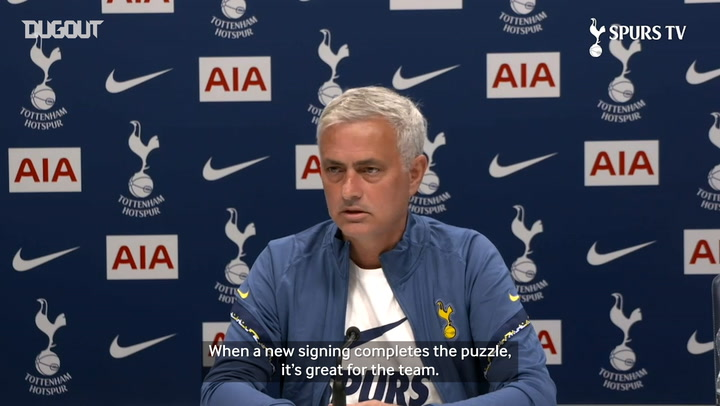 Jose Mourinho discusses the remainder of the transfer window
