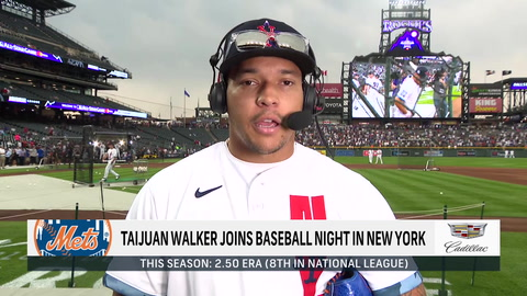 Taijuan Walker on being an All-Star, Pete Alonso's derby win and the Mets' cohesion this season