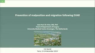 Prévention des malappositions et migrations après EVAR