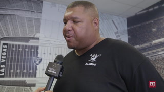 Former Raider Lincoln Kennedy talks Las Vegas Raiders, Allegiant Stadium, Super Bowl – Video