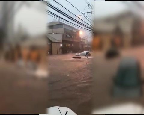 Una tempestad azotó el norte de Brasil