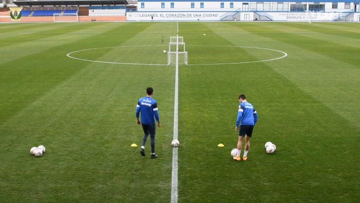 CD Leganés mini goals challenge: Luis Perea vs Javi Hernández