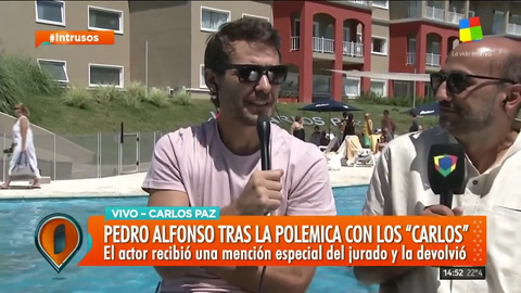 Pedro Alfonso en Intrusos