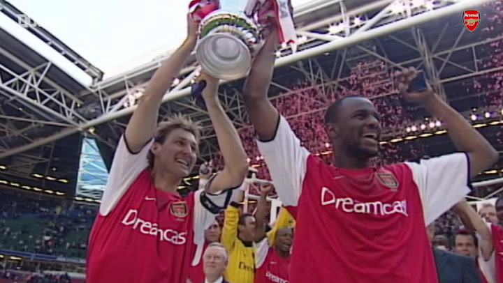 Patrick Vieira's legendary Arsenal career
