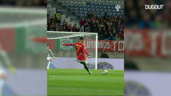 Cristiano Ronaldo's incredible strike vs Lithuania
