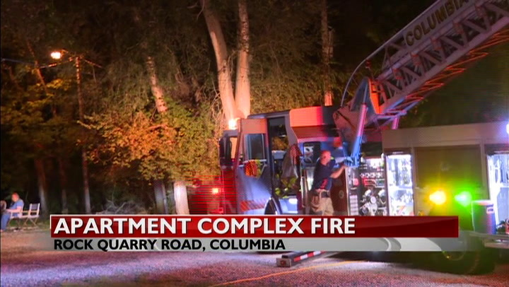 No injuries after Columbia apartment fire