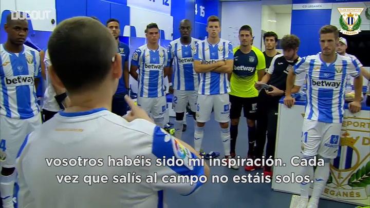 Inspirational Team Talk From Super Fan Blanca Poza