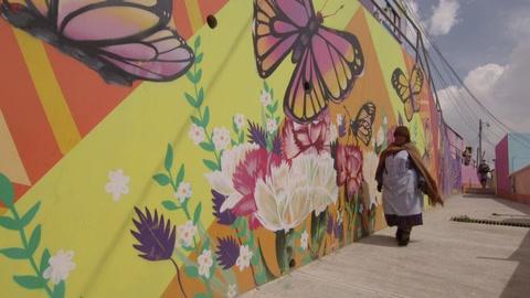 El coronavirus frena turismo en el barrio aymara más colorido de La Paz