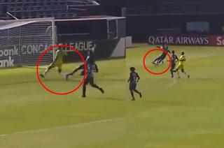 El horror de Wesly Decas ante Universitario que le costó el 1-0 a Motagua en Panamá