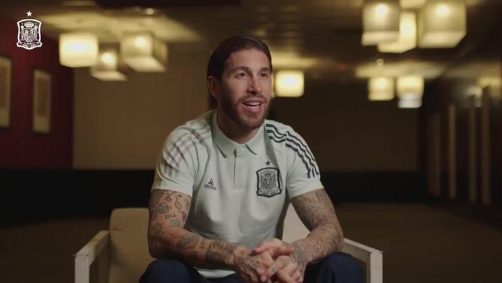 Sergio Ramos repasa su carrera en la selección