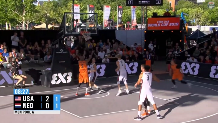 Highlights: USA 3X3 World Cup Team Defeats South Korea And Netherlands