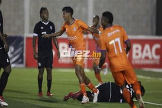 ¡Gol de la UPN! Enrique Vázquez anota el 1-0 ante el Honduras de Progreso