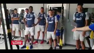 Video: Honduras comenzó preparación para enfrentar a Martinica y Trinidad y Tobago