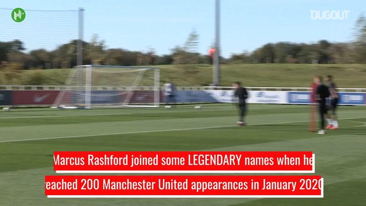 Marcus Rashford's Rapid Rise To 200 Man United Appearances