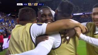 Rubilio Castillo anota el segundo gol para Honduras