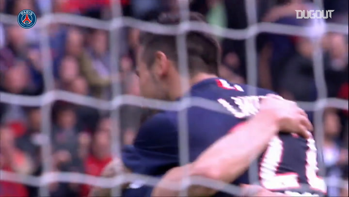 Ezequiel Lavezzi's hat-trick vs Lille in 2015