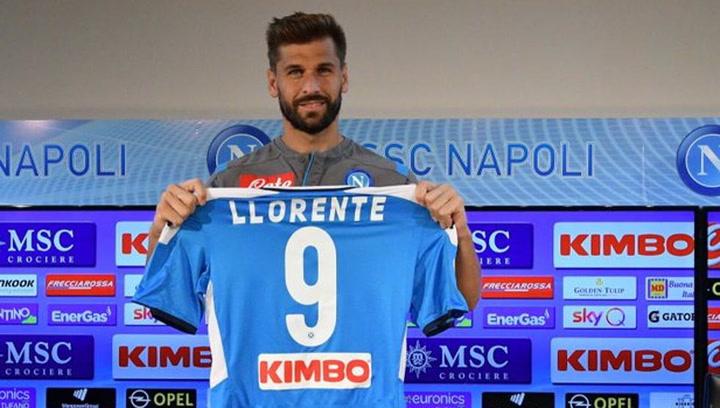Así fue la presentación de Ferando Llorente con la SSC Napoli