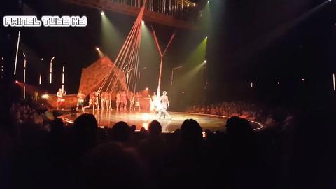 Un acróbata del Cirque du Soleil murió al caer durante un show