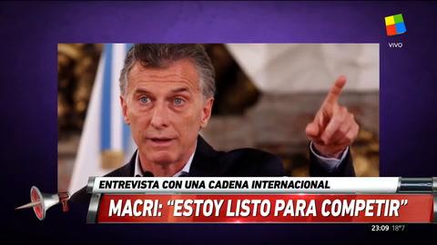 Macri aseguró que irá por la reelección en 2019