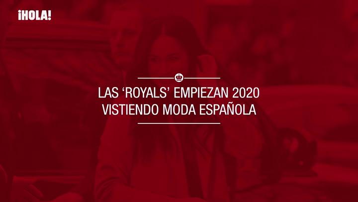 Las \'royals\' empiezan 2020 vistiendo moda española