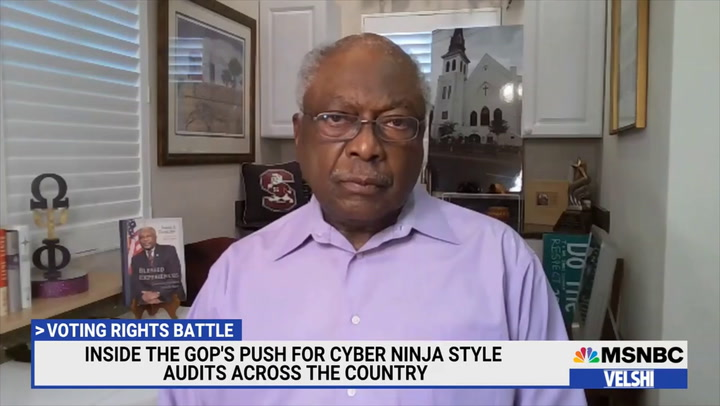 Clyburn: Parts of Manchin's Voting Proposal 'Need to Be Worked On'