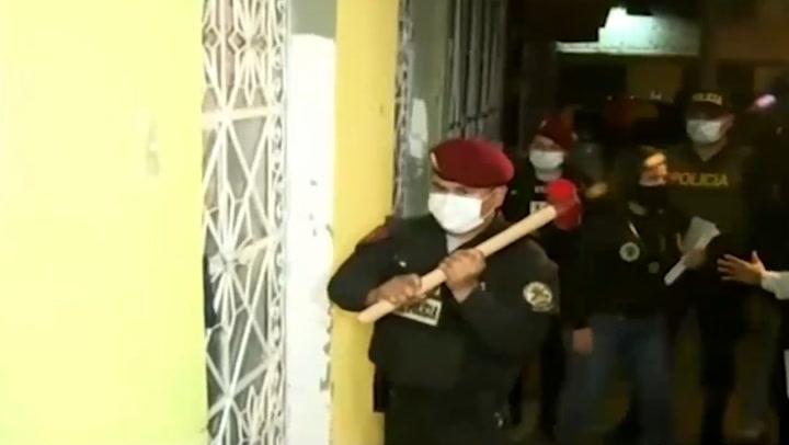 Intervienen a policías que habrían realizado operativos ilegales en Lima