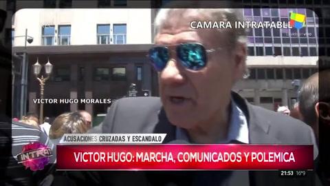 Víctor Hugo pidió por la libertad de expresión ante la Cámara Intratable