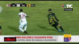 Nelson Salgado le perdona la roja a Germán Mejía: Codazo a Getsel Montes y merecía la segunda amarilla