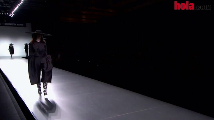 Fashion Week Madrid otoño-invierno 2014-2015: Martín Lamothe