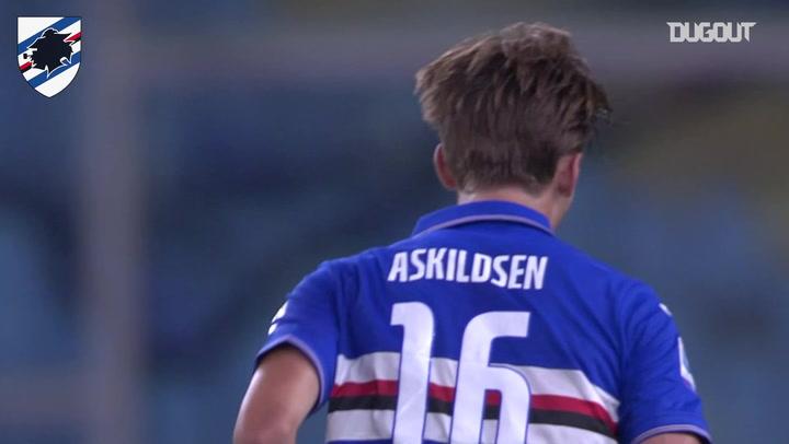 Kristoffer Askildsen'in Sampdoria Formasıyla Attığı İlk Gol