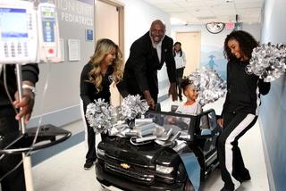 Raiders bring joy and cars to UMC Children's Hospital