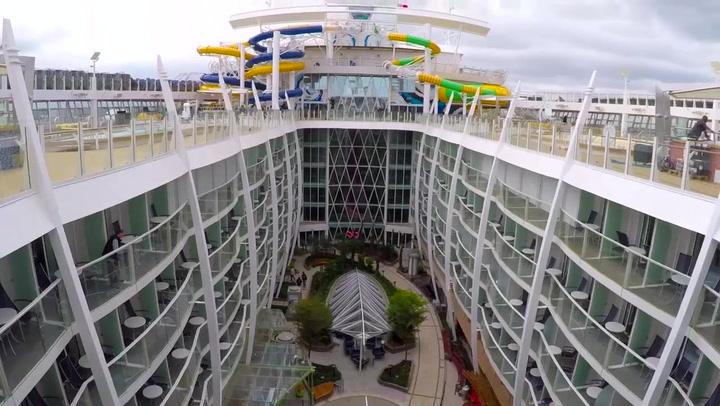 Sneak Peak At Symphony Of The Seas