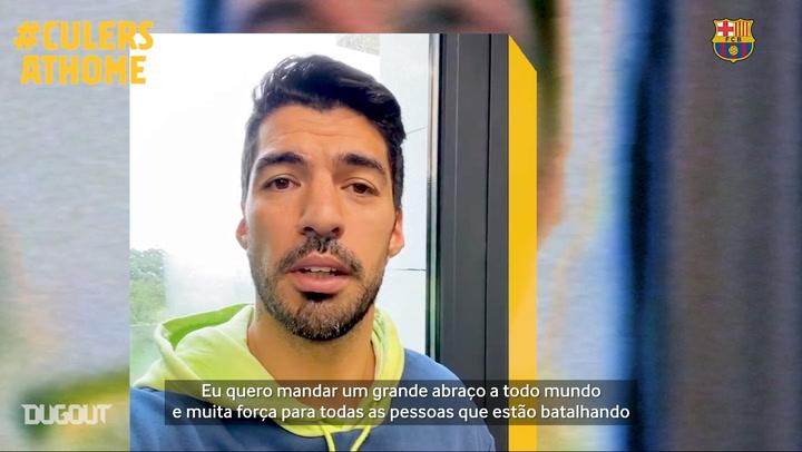 Coronavírus: como jogadores do Barcelona tem passado o tempo durante confinamento