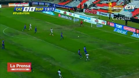Asistencia de Michaell Chirinos y gol de Lobos BUAP ante Cruz Azul