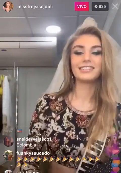 Miss Albania se viraliza por bailar Te boté